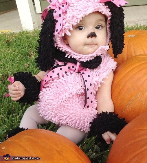 Little Poodle Homemade Costume