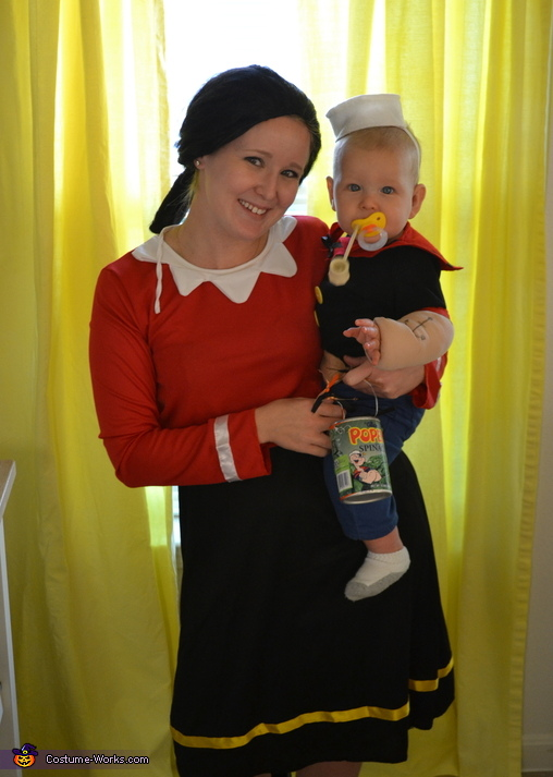 Little Popeye, Popeye Baby Costume