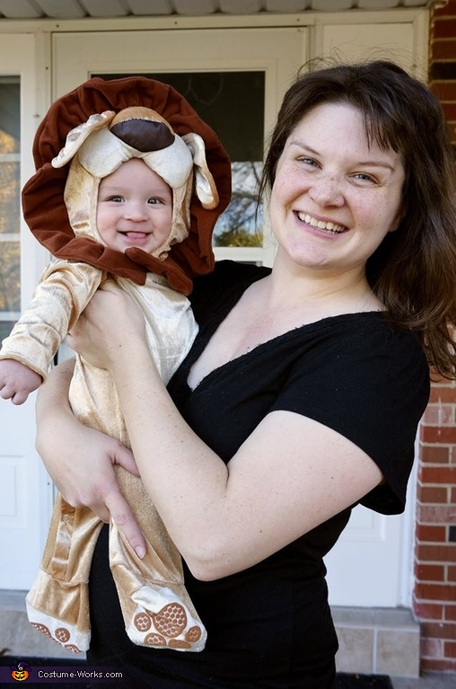 Little Proud Lion Costume