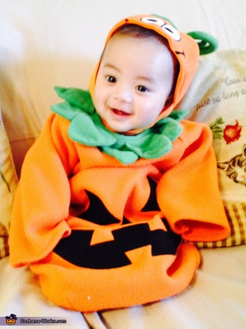 Little Pumpkin Homemade Costume