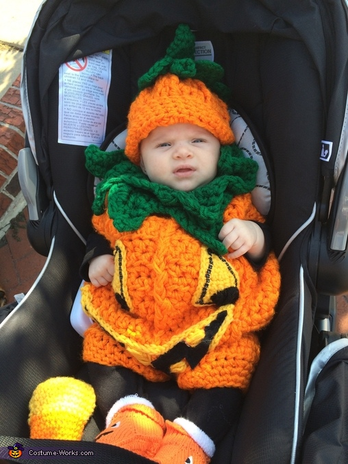 Giselle the happy pumpkin, Little Pumpkin Baby Costume