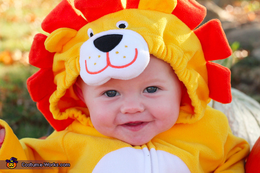 Little Pumpkin & Lion Baby Costumes