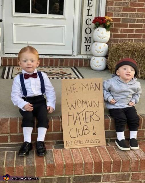 Little Rascals Spanky and Alfalfa Costume
