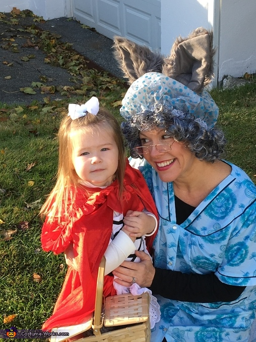 Grandma wolf and little red, Little Red and Her Wolves Costume