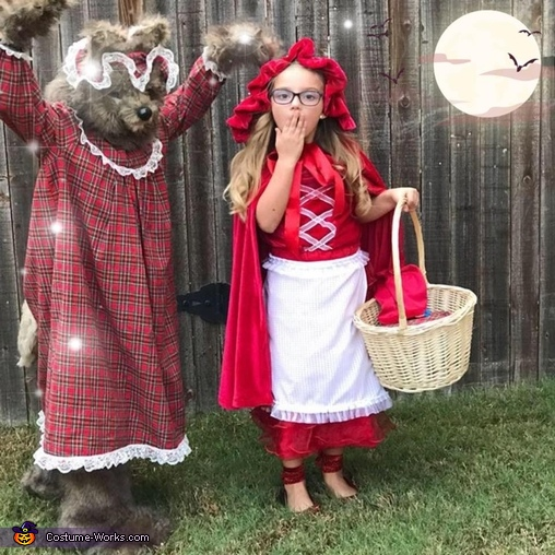 Little Red and The Big Bad Wolf Costume