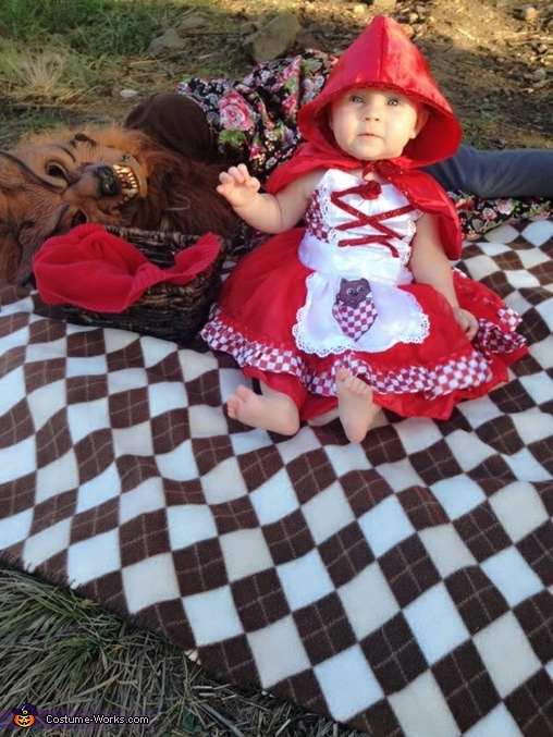 LITTLE BABY RED, Little Red and the Big Bad Wolf Costume