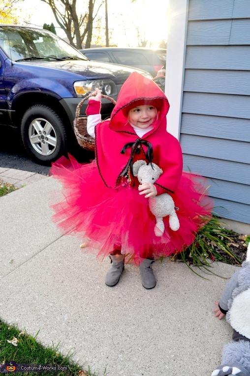 Little Red, Little Red and the Big Bad Wolf Costume