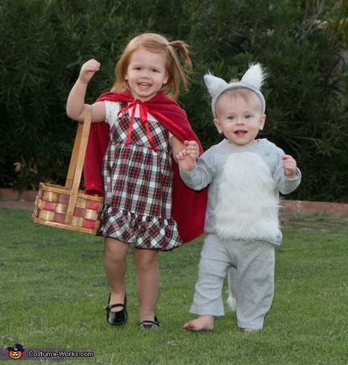 Little Red and the Not-So-Big-Bad Wolf Costume