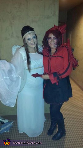 Angel Daughter-in-law & me little red, Little Red Misschievous Costume