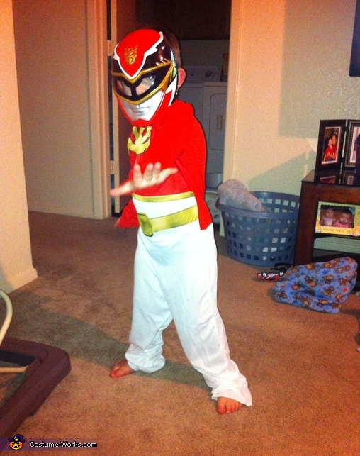 Little Red Power Ranger Costume