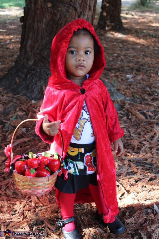 Little Red Ridding Hood Costume