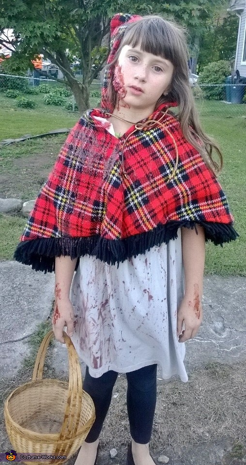 Little Red Riding and Werewolf Homemade Costume