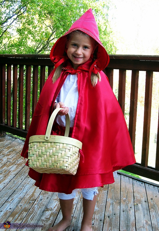 Little Red Riding Hood - Homemade costumes for girls