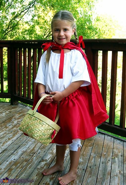 Little Red Riding Hood Halloween Costume Original Diy Costumes