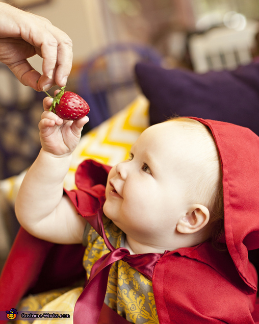 Little Red Riding Hood takes a strawberry, Little Red Riding Hood Baby Costume