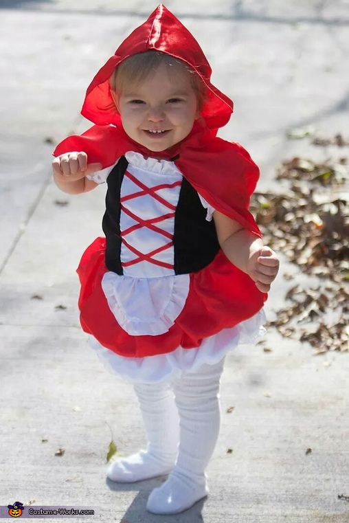 Little Red Riding Hood Baby Halloween Costume