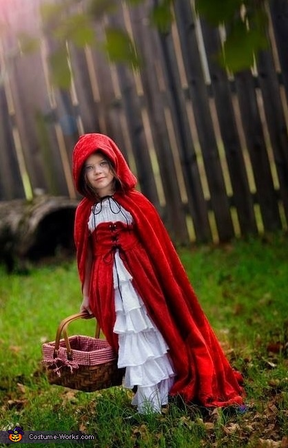 Girl's Little Red Riding Hood Costume