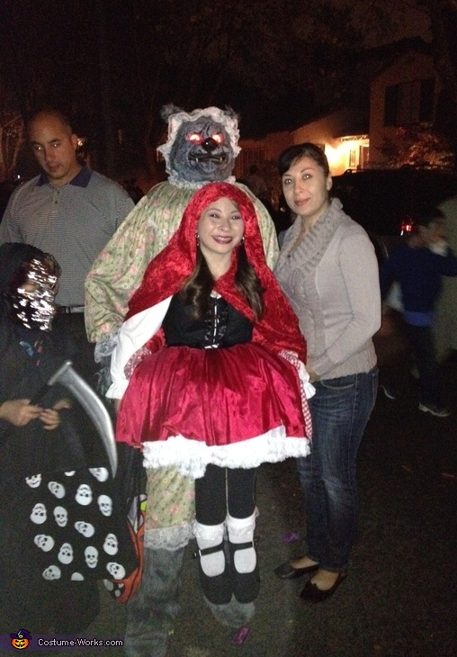 Best Little Red Riding Hood Illusion Costume