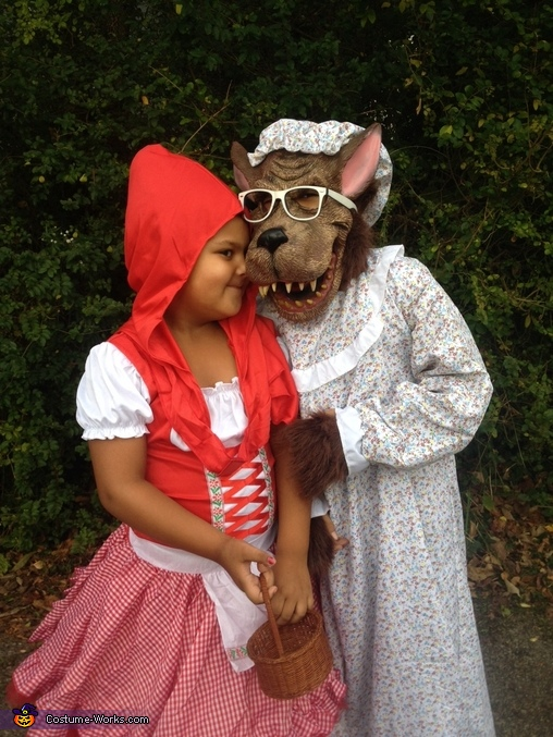 Little Red Riding Hood And Big Bad Wolf Costume Kids Photo 2 3