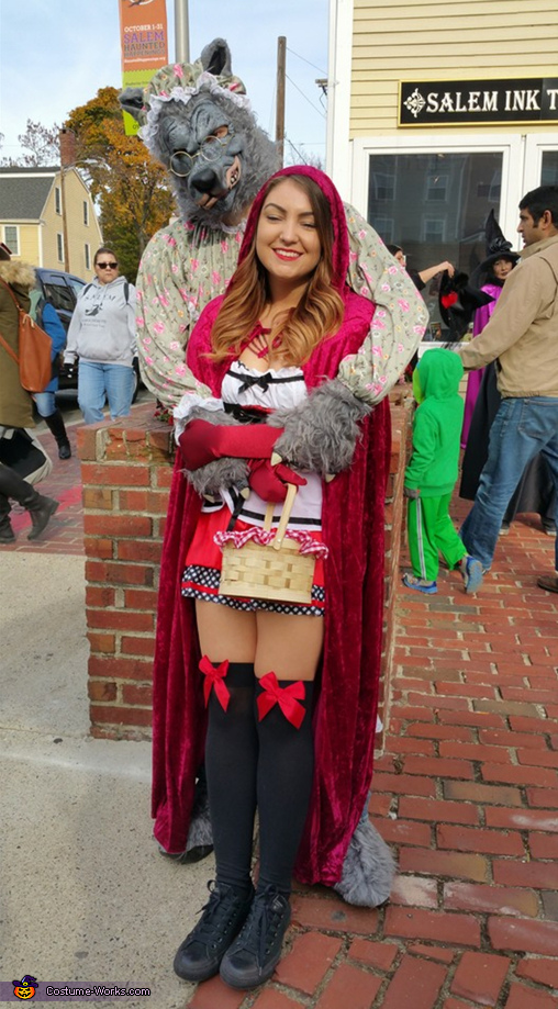 Little Red Riding Hood and Big Bad Wolf / Grandma Costume
