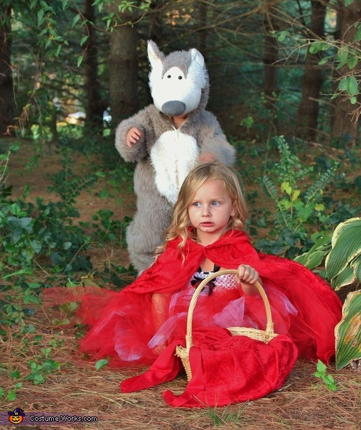 Little Red Riding Hood and the Bad Wolf Costume