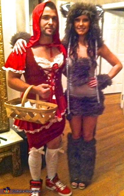 Little Red Riding Hood and the Big Bad Wolf Couples Costume