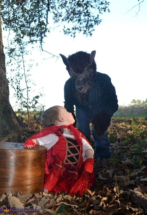 Little Red Riding Hood and The Big Bad Wolf Halloween Costume Idea