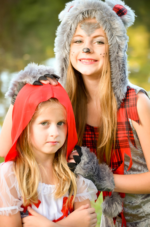 Keep your friends close, keep your enemies closer...., Little Red Riding Hood and the Big Bad Wolf Costume