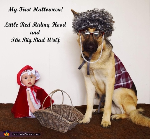 Little Red Riding Hood and The Big Bad Wolf, Little Red Riding Hood and The Big Bad Wolf Costume