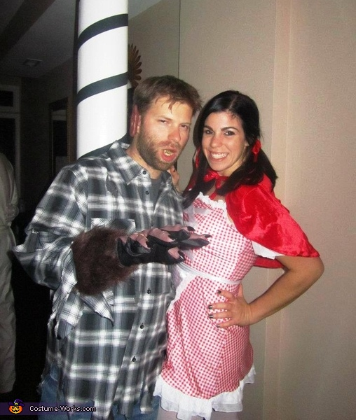 Little Red Riding Hood and the Big Bad Wolf Costume