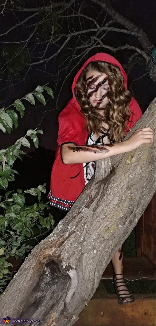 Little Red Riding Hood Attacked Costume
