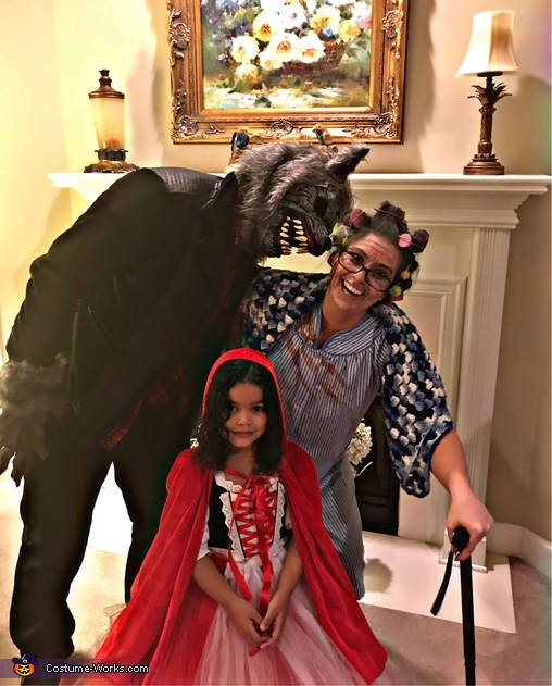 Little Red Riding Hood Family Costume