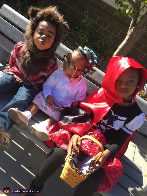 Little Red Riding Hood, Granny, & The Big Bad Wolf Costume