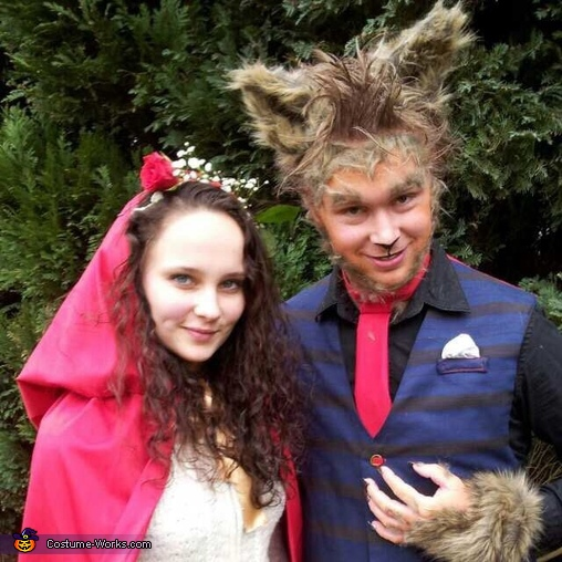 Little Red Riding Hood & the Big Bad Wolf Costume