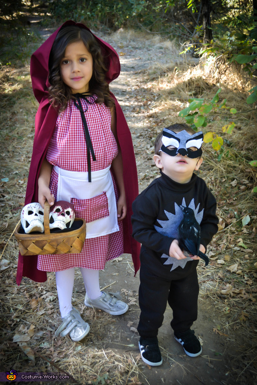 Diy Little Red Riding Hood And Wolf Costume