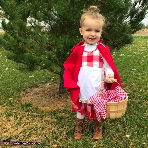 Little Red Riding Hood, The Big Bad Wolf & Granny Homemade Costume