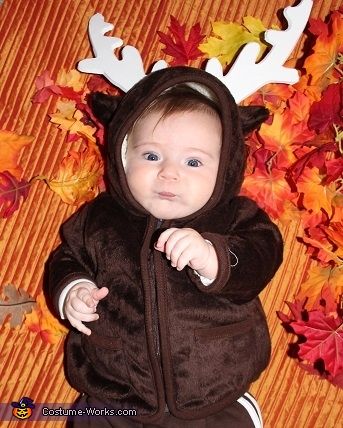 Little Reindeer Baby Costume