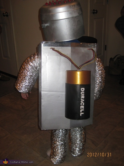 'Duracell' Battery, Little Robot Costume