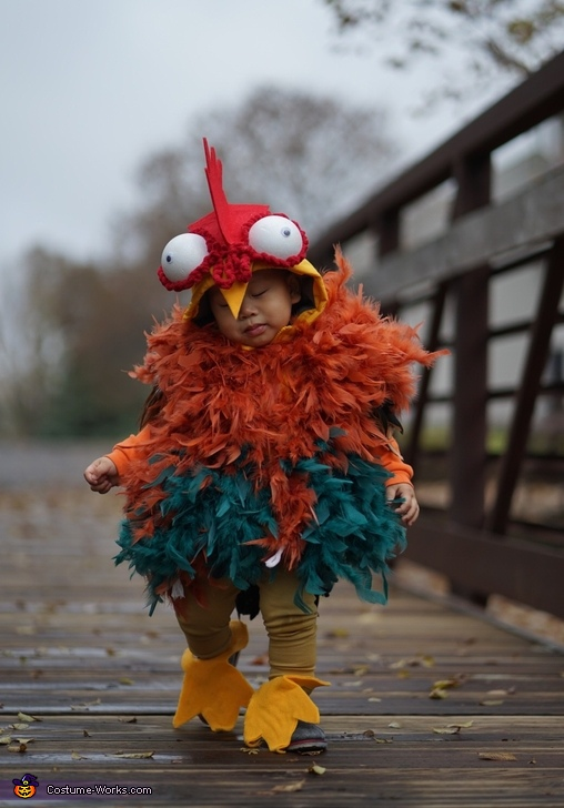 Little Rooster HeiHei Costume