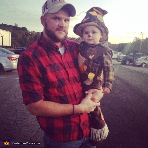 Scarecrow and daddy, Little Scarecrow Costume
