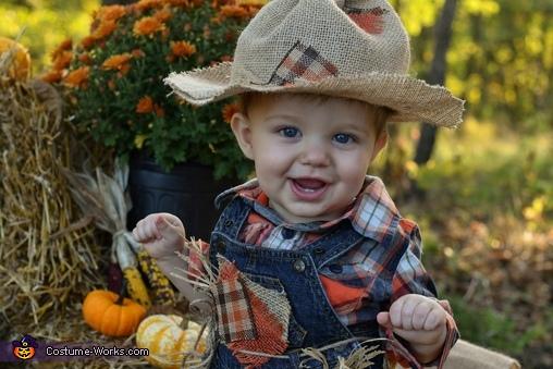 Little Scarecrow Homemade Costume