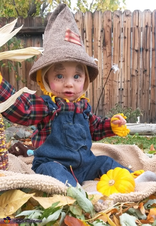 Little Scarecrow Baby Costume