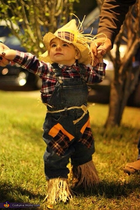 My little scarecrow , Little Scarecrow Baby Costume