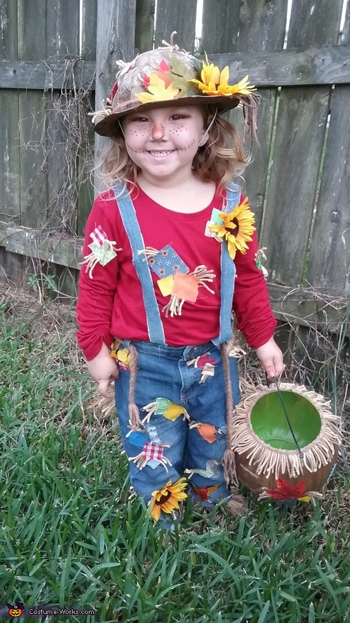 Little Scarecrows Homemade Costume