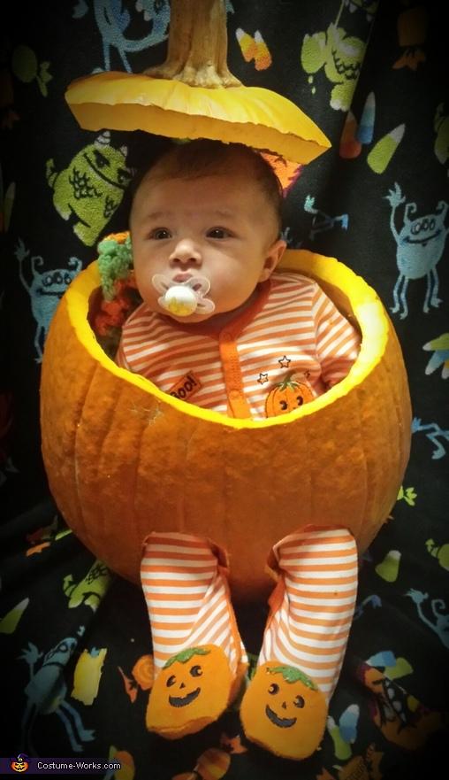 My little pumpkin, Little Skeleton Costume