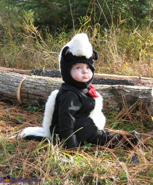 Little Stinker Baby Skunk Halloween Costume
