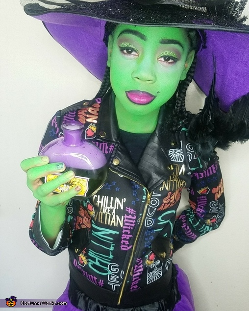 Little Wicked Witch Homemade Costume