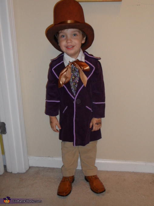 Our little Chocolatier 2013, Little Willy Wonka Costume