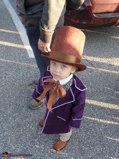2 year old Willy Wonka, Little Willy Wonka Costume
