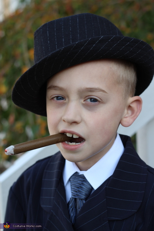 Al Capone ain't got nothing on me., Little Wise Guy Costume